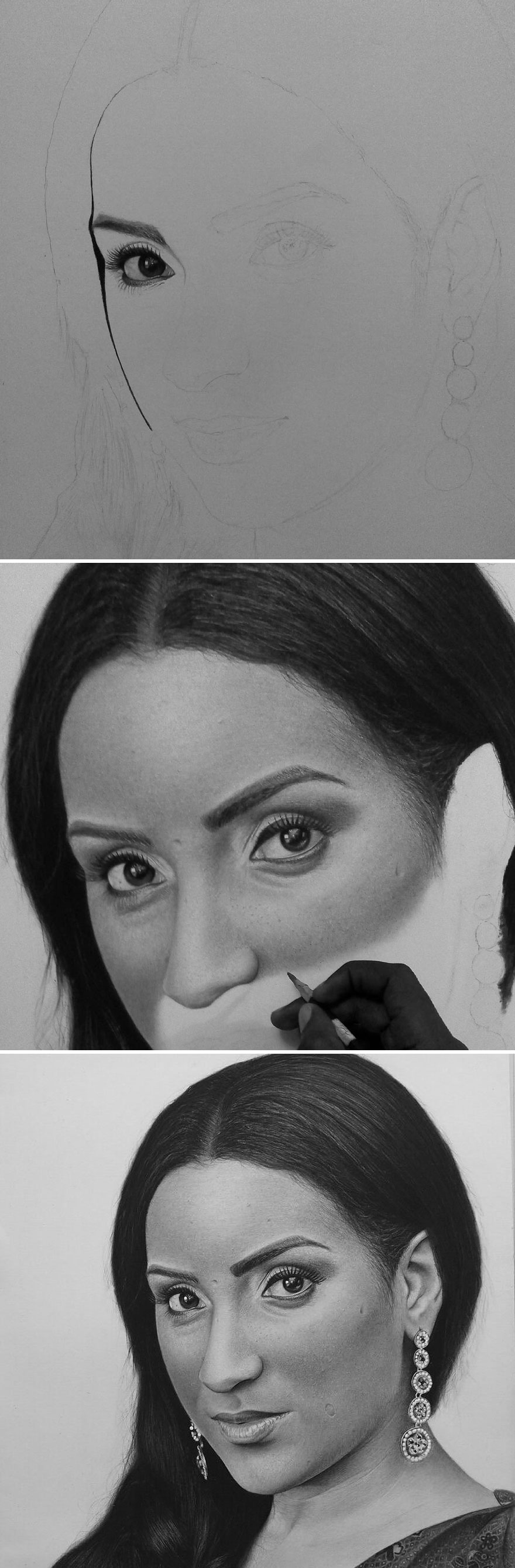 Unbelievably Realistic Pencil Portraits By Nigerian Artist (2)