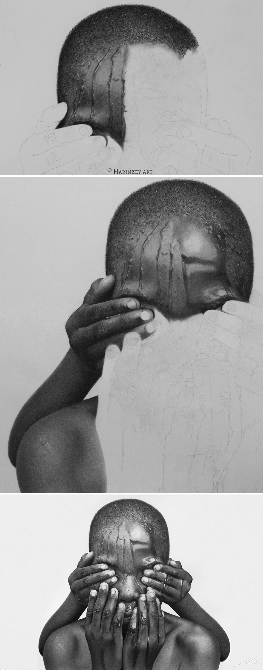 Unbelievably Realistic Pencil Portraits By Nigerian Artist (6)