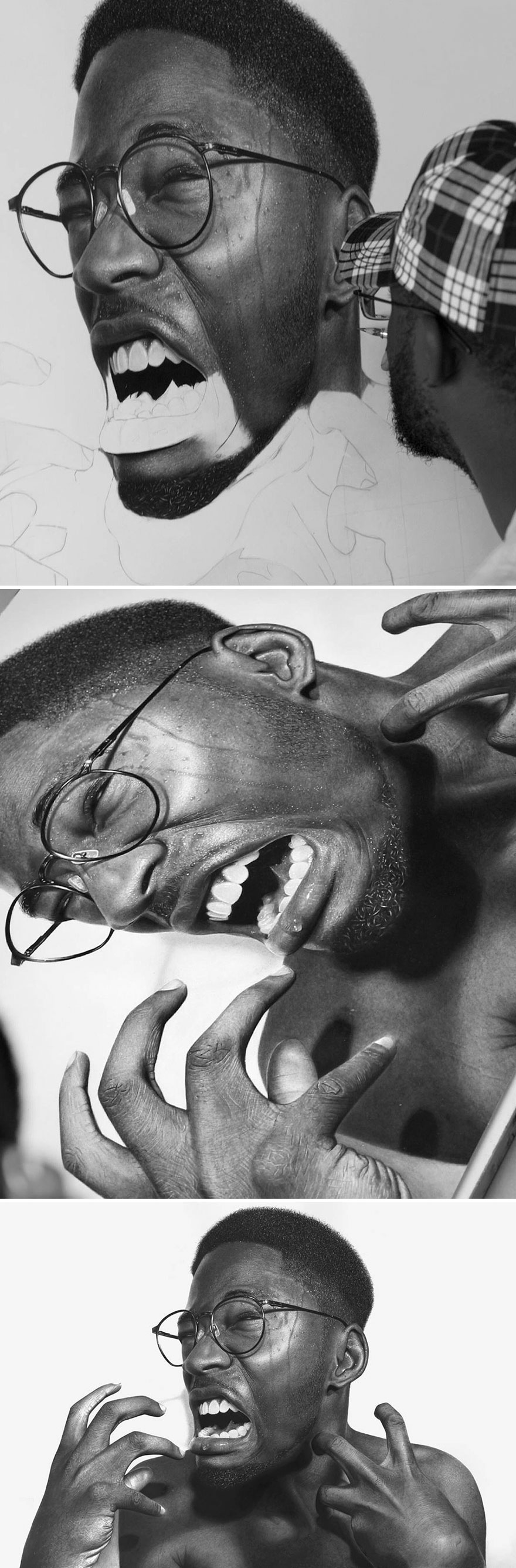 Unbelievably Realistic Pencil Portraits By Nigerian Artist (8)