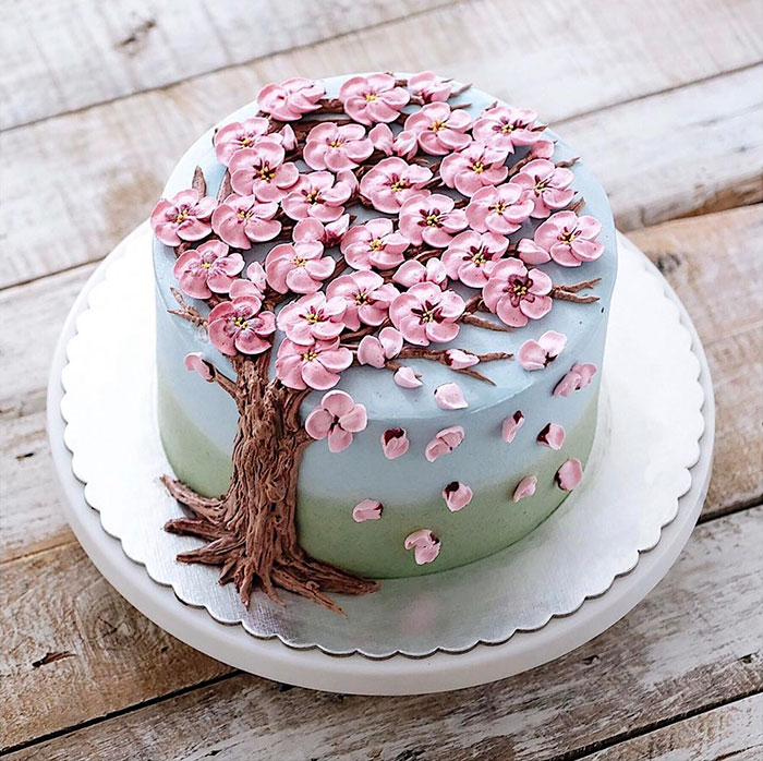 Yummy Blooming Flower Cakes (10)