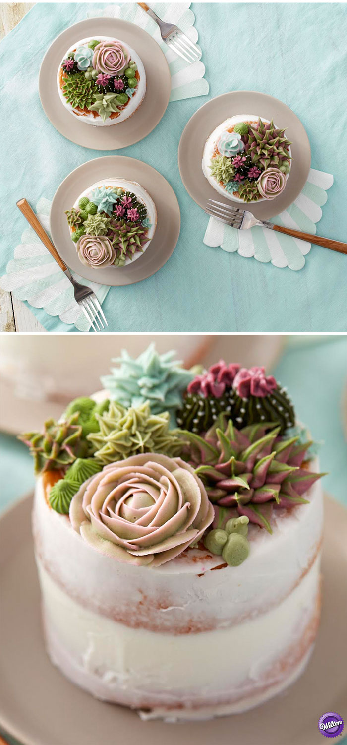 Yummy Blooming Flower Cakes (17)
