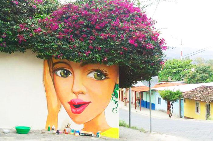 Fabulous And Stunning Nature Street Art (11)