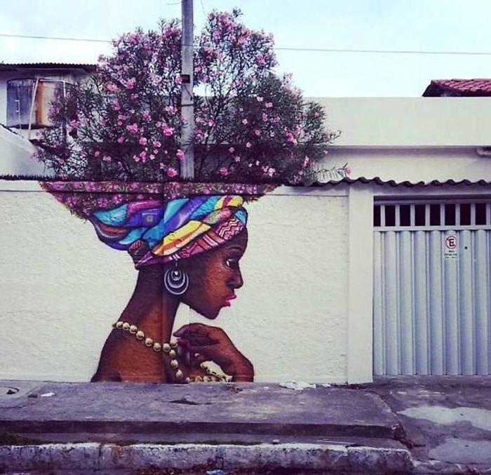 Fabulous And Stunning Nature Street Art (13)