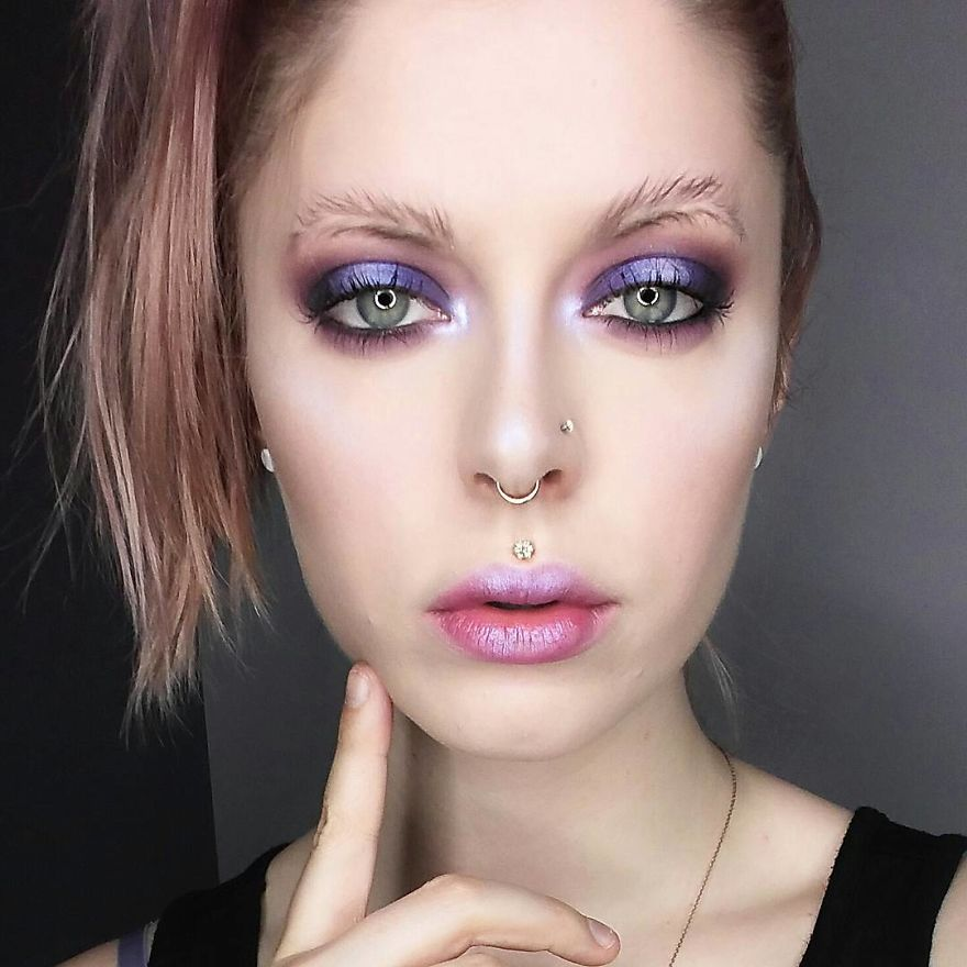 Newest Trend Feather Eyebrow Images (1)