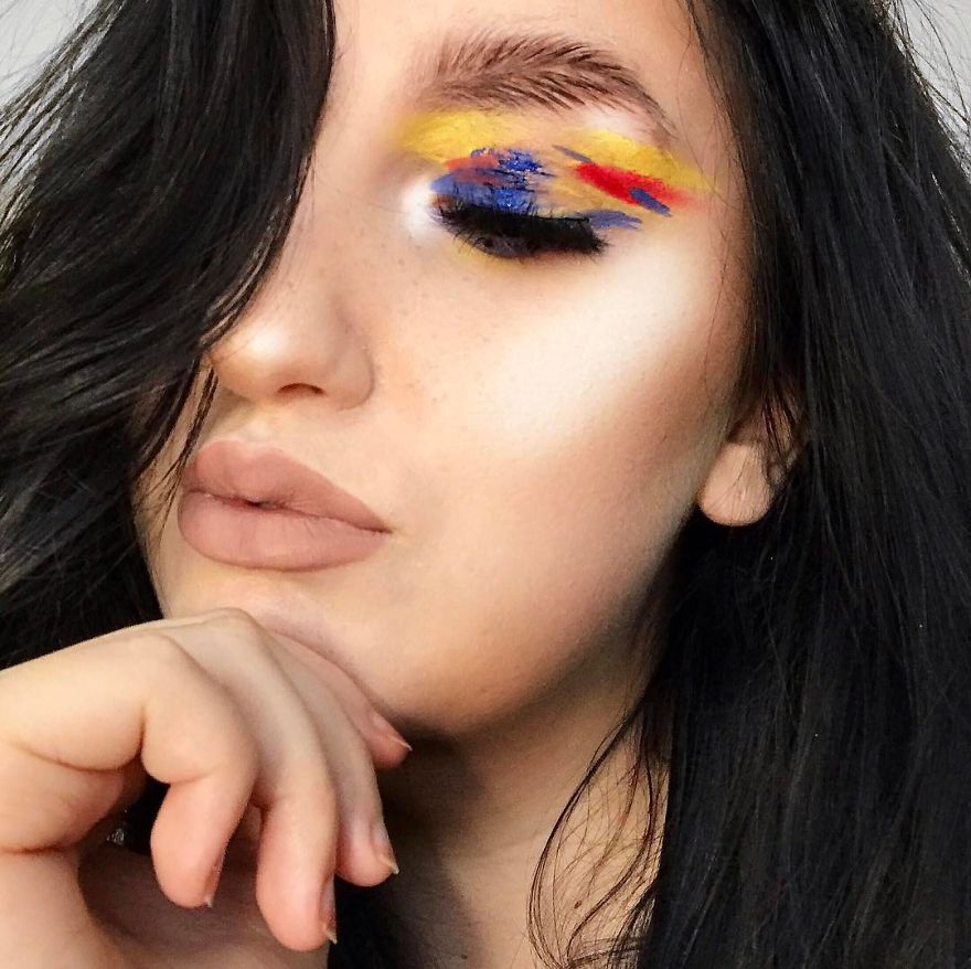 Newest Trend Feather Eyebrow Images (6)
