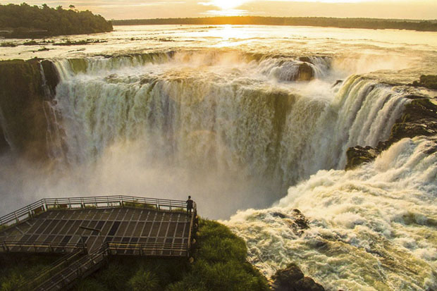 Sunrise At The Iguazu Falls Balcony, Argentina (Nature - Finalist)