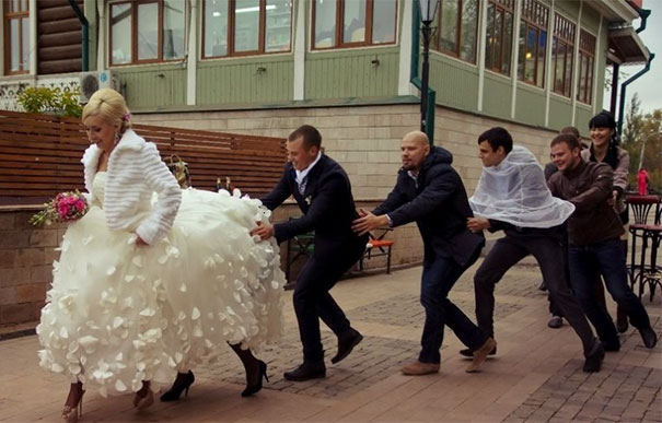 20 Funny Weird Russian Wedding Photos Great Inspire